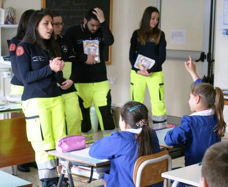 Protezione Civile Bellizzi -- formazione scuola primaria