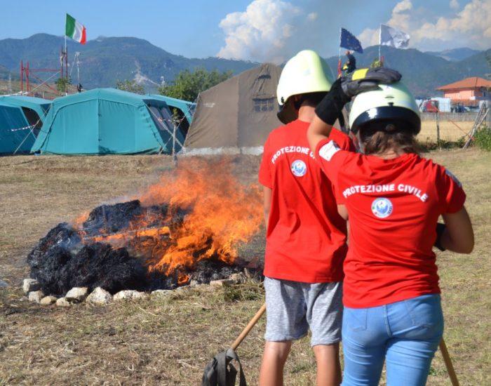 Protezione Civile Bellizzi - campi scuola